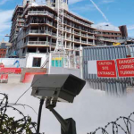 CCTV on Building Site