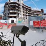 CCTV on Building Site