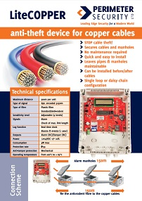 LiteCOPPER Copper Cable Theft Prevetion Alarm