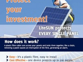 LiteSUN PV Panel security