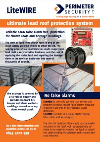 LiteWIRE Ultimate Lead Roof Alarm System